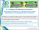 Magnum Backflow Preventer Maintenance Instructions