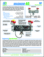 Magnum 40 Specification sheet